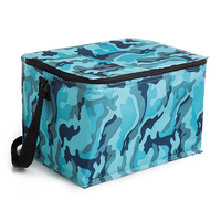 Laumango 20L Solid Thermal Insulated Cooler Bag Extra Large Picnic Lunch Bag Box Trips BBQ Ice