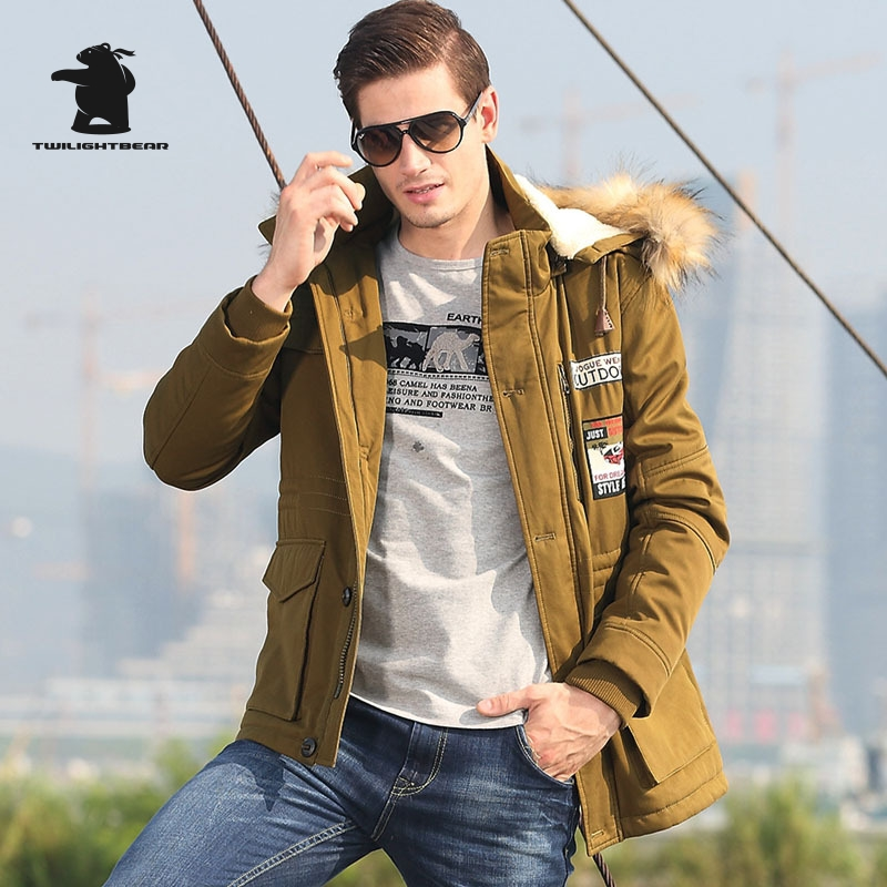 High Quality Brand Men s Casual Cotton Jacket New Fashion Thicken Winter Jacket Men Warm Hooded