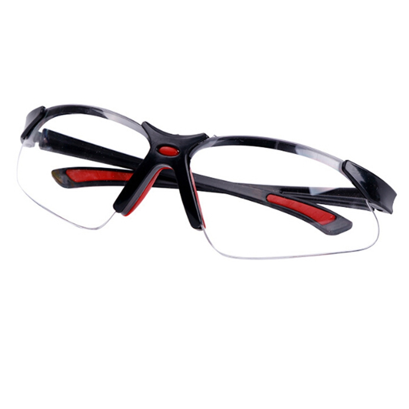 Audacious Soft Nose Glasses Protective Wind And Dustproof Laser Glassesanti-uv Safety Clear Anti-impact Factory Lab Outdoor Work Goggles