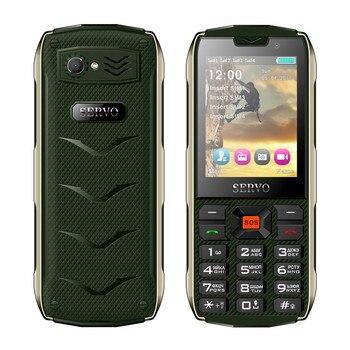 SERVO H8 Mobile Phone 2.8inch 4 SIM card 4 standby Bluetooth Flashlight GPRS 3000mAh Power Bank Phone Russian Language keyboard 3