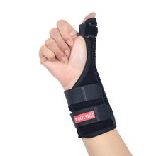 1PCS Adjustable Sport Wristband Thumb Guard Wrist Support Wrap For Sports Protector Plate Gym Accessories Sprain Recovery Finger medical thumb splint thumb guard thumb support brace protector for damage of thumb wrist joint sprain
