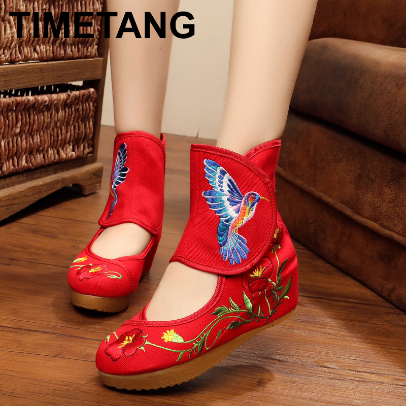 fly-consciousness Spring and Boots Zipper Fashion Boots Youth TPR Microfiber Leather Beef Tendon
