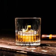 Японский полосатый стеклянный бар для виски, специальный Классический Бокал для коктейлей, винтажный бокал для вина 360 мл