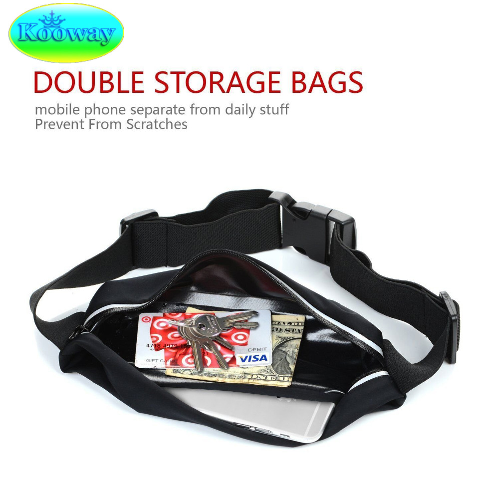 5ad8e2a2af Waterproof Waist Band Case Run Bag for Huawei Hononr 6C 5 4C Pro 4A Magic GYM  Workout Sport Casual Case Wallet Belt Pouch Cover-in Phone Pouch from ...