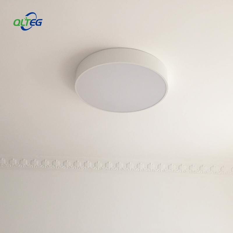 QLTEG Modern LED ceiling light 350mm Round simple decoration fixtures study dining room balcony bedroom living room ceiling lamp ceiling light living room is dome light round american idyllic corridor scandinavian simple balcony antique bedroom lamp 1852