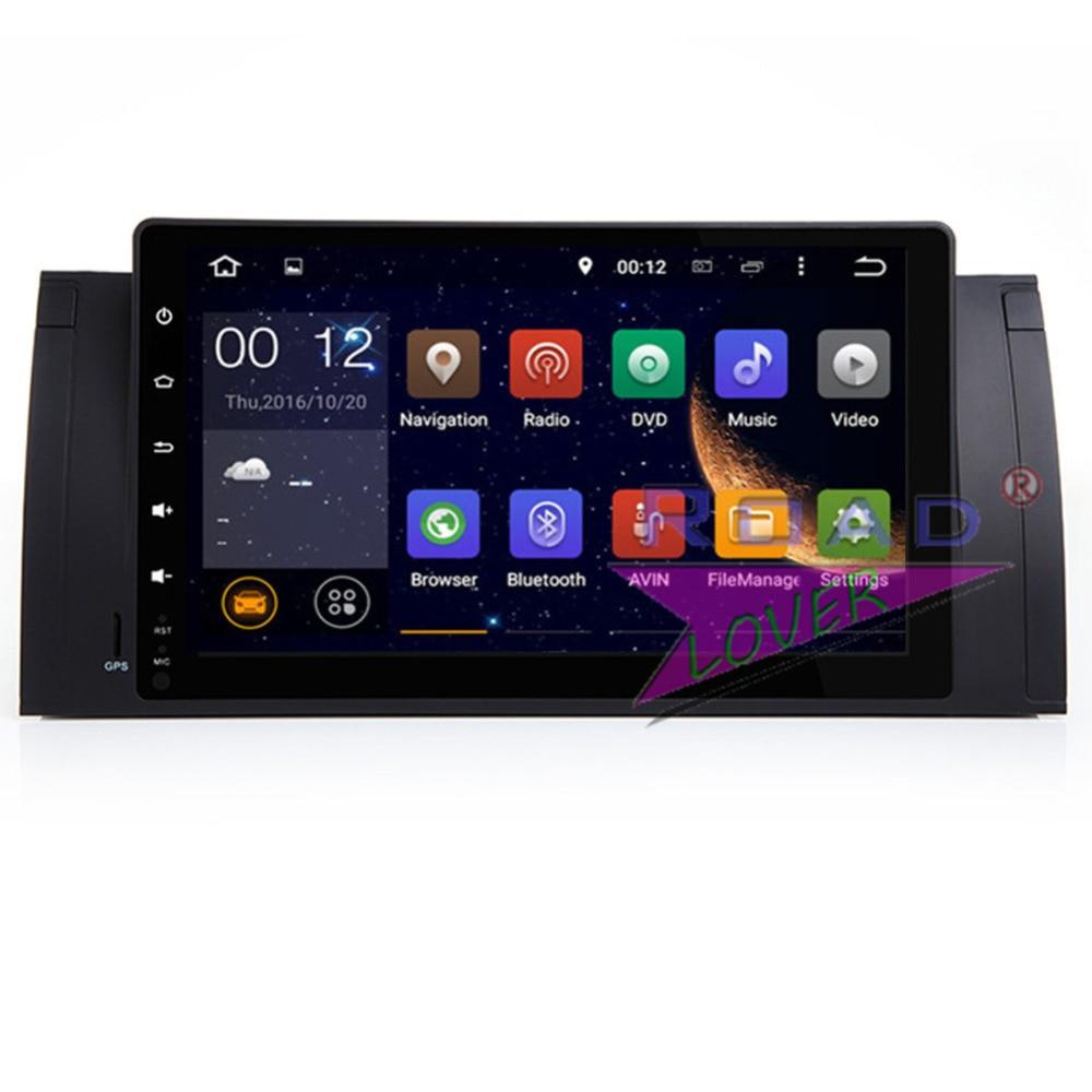 TOPNAVI 4G + 32GB Новый Android 8,0 Восьмиядерный автомобильный головный блок Авто плеер для BMW 5 серии E39 BMW X5 E53 Стерео GPS навигация видео
