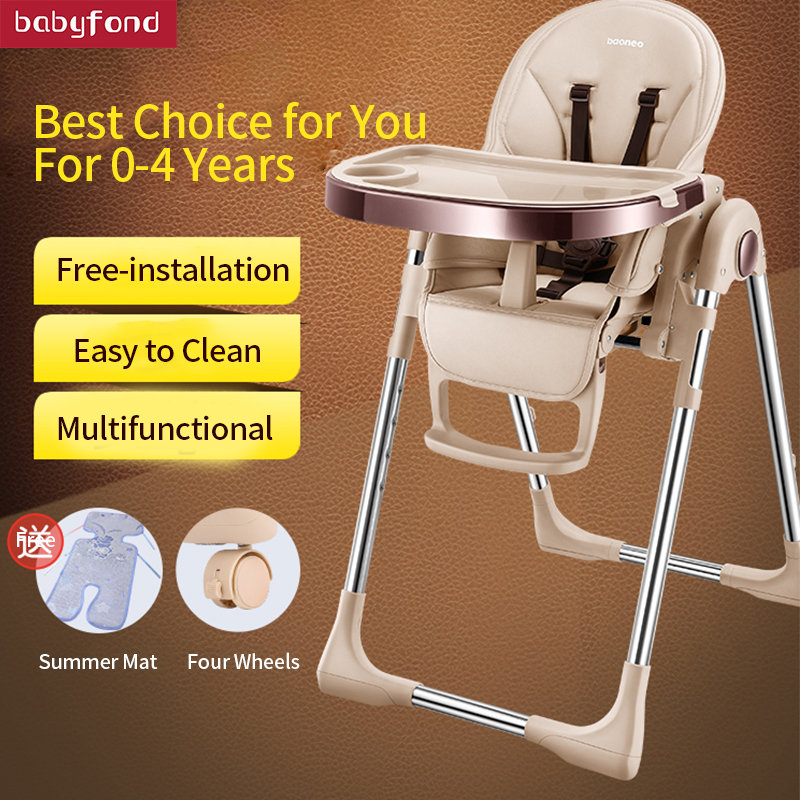 Baoneo Baby Highchairs Multi functional Portable Folding Table Chair ...