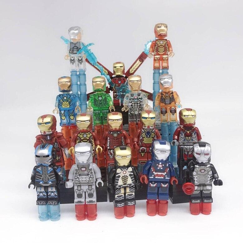 Iron Man Mark 1 Custom Minifiguren MOC Lego Toy Iron Man KF453