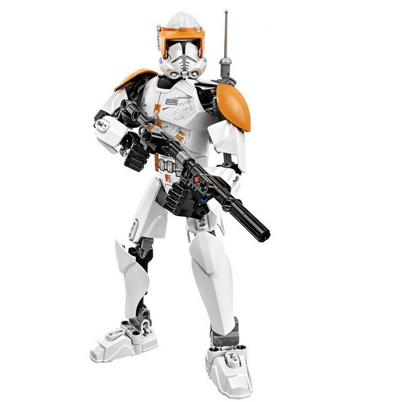 KSZ 712-2 Star Wars Clone Commander Cody Robot Model Building Blocks Classic Enlighten Figure Toys For Children Compatible Legoe hi fi cm6631a 192khz to coaxial optical spdif convertor dac board 24bit usb 2 0