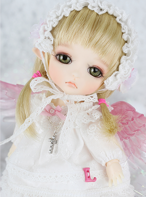 1/8 scale BJD about 15cm pop BJD/SD cute kid Lea Prayer Resin figure doll DIY Model Toy gift.Not included Clothes,shoes,wig