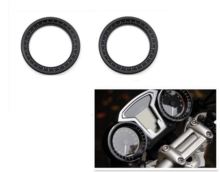 For BMW R NineT Tacho Decoringe Speedometer Cover Tachoring Aluminum R 9T for bmw r nine t techometer speedometer ring cover r 9t