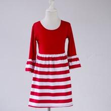 open girl full photo baby kids stripe dress chiffon new styl