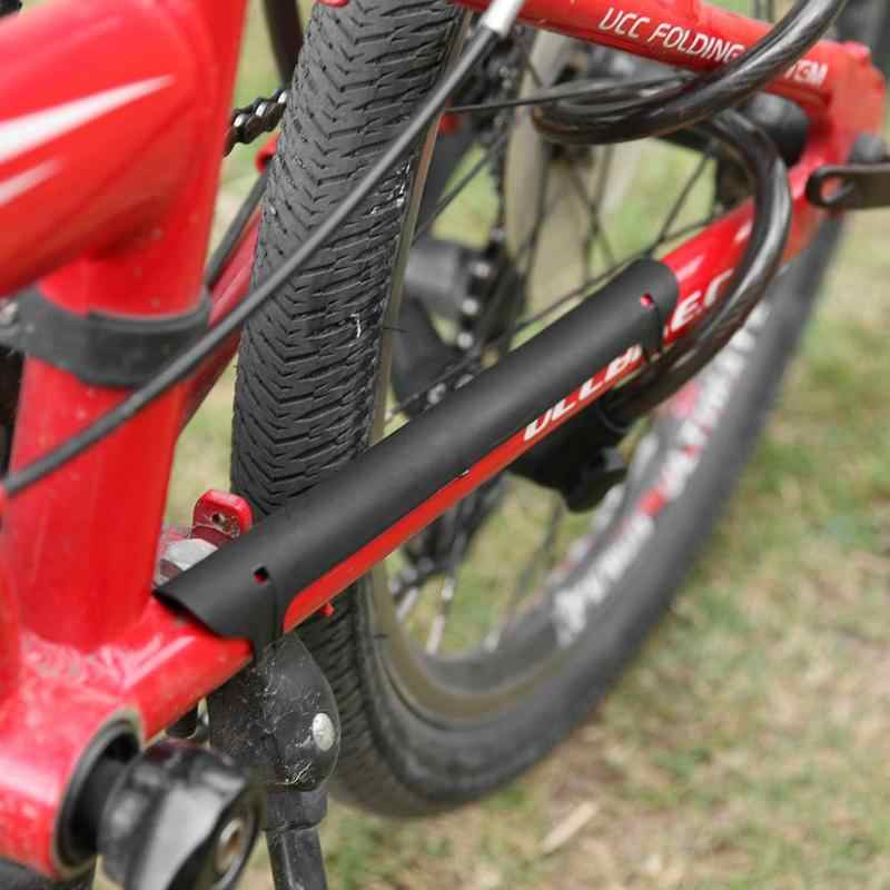 PLASTIC CHAINSTAY ROAD MTB BIKE BICYCLE CYCLE FRAME CHAIN GUARD PROTECTOR T1N6