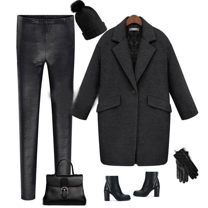 Manteau Dessus Chic Gris 2019 Femme Femmes Noir Vestes Unique Pardessus Vêtements Lâche Rabattu De Col Solide Longue Casacos Pour Bouton gris EqEwxBZ4A