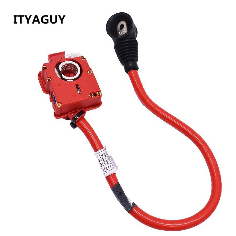 Новый кабель батареи плюс полюс положительный свинец 61129217033 02 для BMW F01 F01N F02N F02 2009 2015 для BMW 7 серии 740 750 автомобиля-in Кабели и коннекторы для батарей from Автомобили и мотоциклы