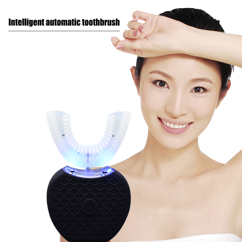 Totally Automatic Tooth Brush Teeth Brush Whitening Wireless Charging Portable Automatic Ultrasonic Fully Automatic Toothbrush in stock whitening automatic toothbrush automatic electric ultrasonic toothbrush 2 head fast cleaning teeth wireless charging