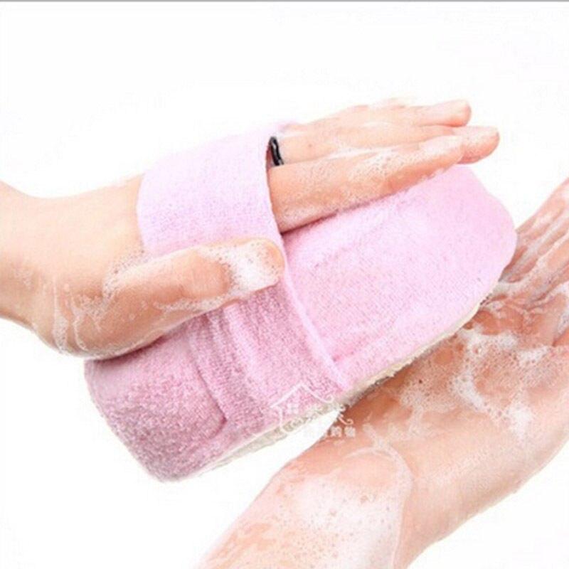 1 Pc Loofah Sponge Natural Loofah Luffa Sponge Face Body Bath Shower Spa Body Effective Exfoliator Scrubber Pad