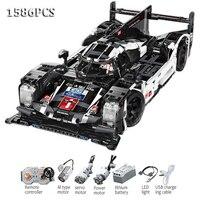 2019 Buliding Car Blocks Car CADA Technic Formula lp F1 Racing Car Model Bugattied Chiron DIY RC Building Block Toy