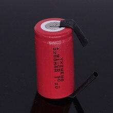 V com Tab Yxzheng Ni-cd Bateria Recarregável Sub C 4 e 5 SC 1.2 2200 Mah