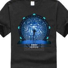 77d44228b fashion Stargate Portal Movie Sg-1 Atlantis Tv Serie Infinity Stargate 3D  Print Men's Short Sleeve Tees High Quality T Shirt