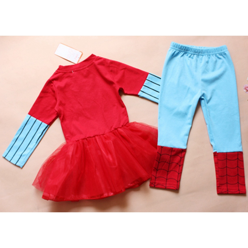 64d114165 Spiderman Christmas Costume for Kids Clothes Lace Tutu Girls ...