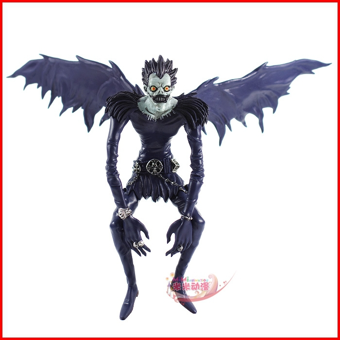 Us 13 16 6 Off Death Note Ryuk Vinyl Figure Toy Shinigami Anime Manga Character With Base New In Action Toy Figures From Toys Hobbies On