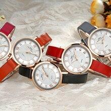 IBSO брендовые кварцевые часы черного и золотого цвета для женщин Relojes Mujer водонепроницаемые Montre Femme модные женские часы ремешок из натуральной кожи