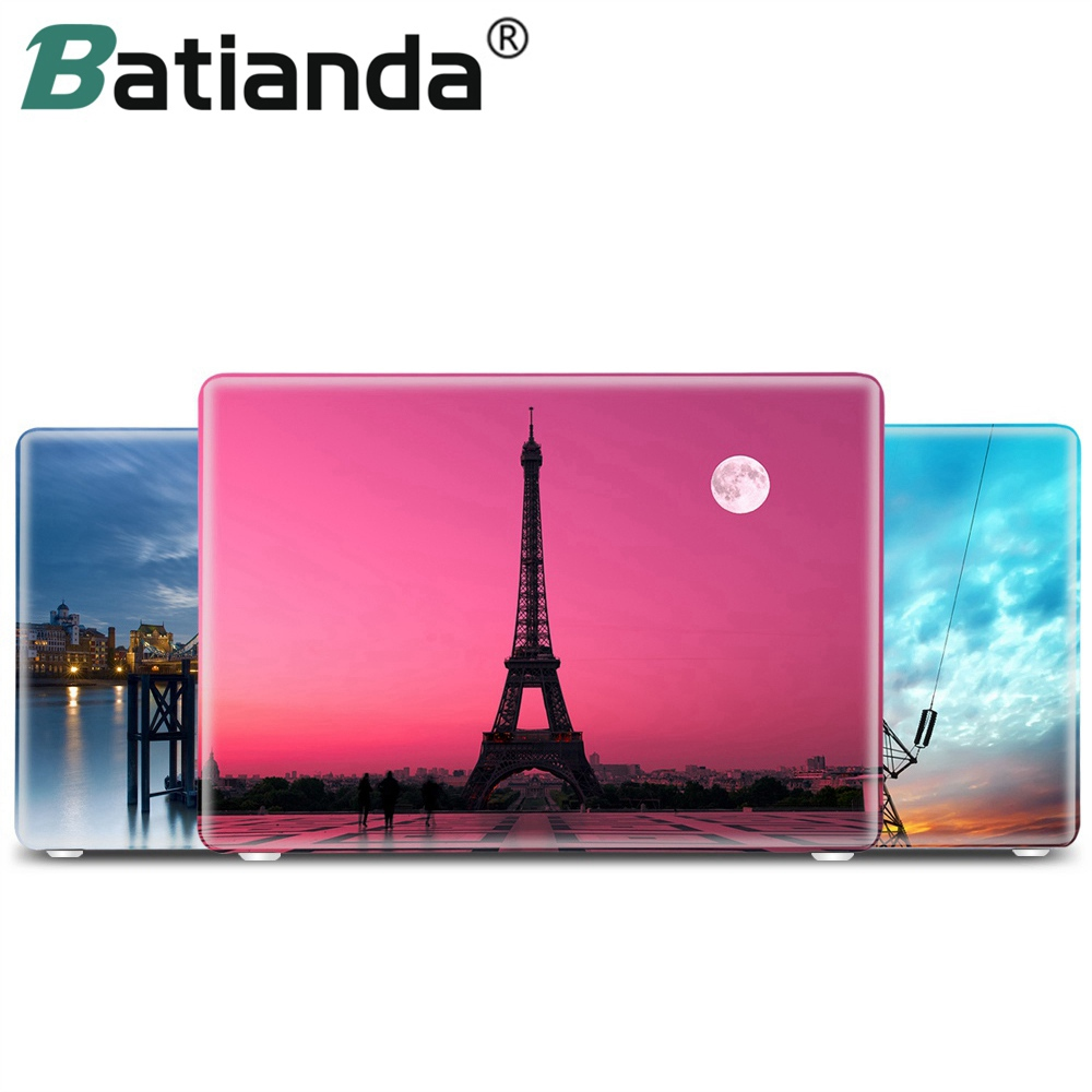 Beauty Eiffel Tower in Red For Macbook Air 11 13 Case Hard Shell Protective Case Cover For Macbook Pro 12 13 15 Retina hat prince usa flag pattern protective full body matte case for macbook air 13 3 blue red