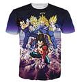 Men Vegeta Super Saiyan T Shirt