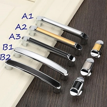 2.5 3.75 5 6.3 Modern Cabinet Handle Door Pulls Knobs Dresser Handles Knob Drawer 64 96 128 160mm