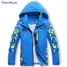 Spring Kids Windbreaker Boys Jacket Coat Outdoor Toddler Boy Blazer Children Outerwear manteau garcon casaco infantil clothes