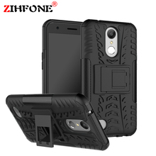 For Funda LG K10 2017 Hybrid Armor Case Hybrid Silicone +TPU Back Covers Cases For LG K10 2017 X400 M250 Phone Bag Case Coque