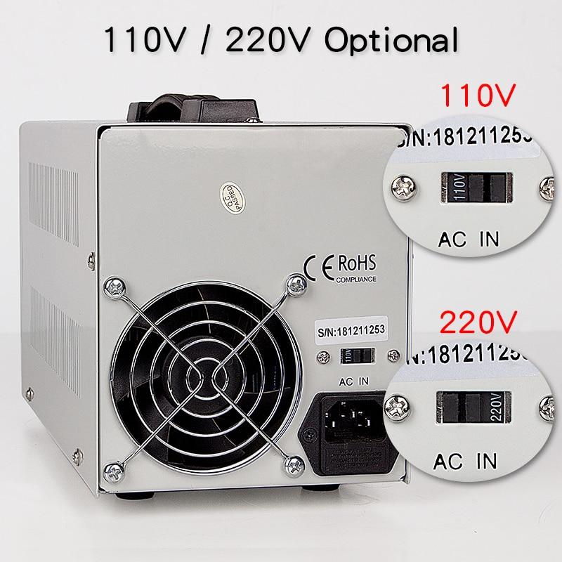 DC Power Supply 30V 10A 4 LED Display Adjustable Switching Regulator PS-3010DF Laptop Repair Rework USB Charging 110v - 220v