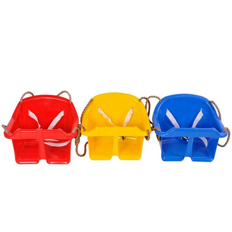 1 pc Jardin ou Cour Arbre Siège De Balançoire À Bascule Chaise pour enfants Cadeaux Bébé Corde Balançoire jouets de Plein Air Jeu de L'environnement en plastique