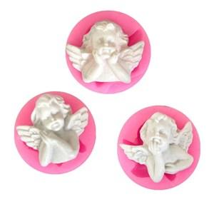 Новейшая силиконовая форма для ангела, инструмент для шоколадной помадки, инструмент для украшения торта L012/L054/L069