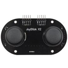 Двойной джойстик секционный модуль щит джойстик игровой контроллер для Arduino