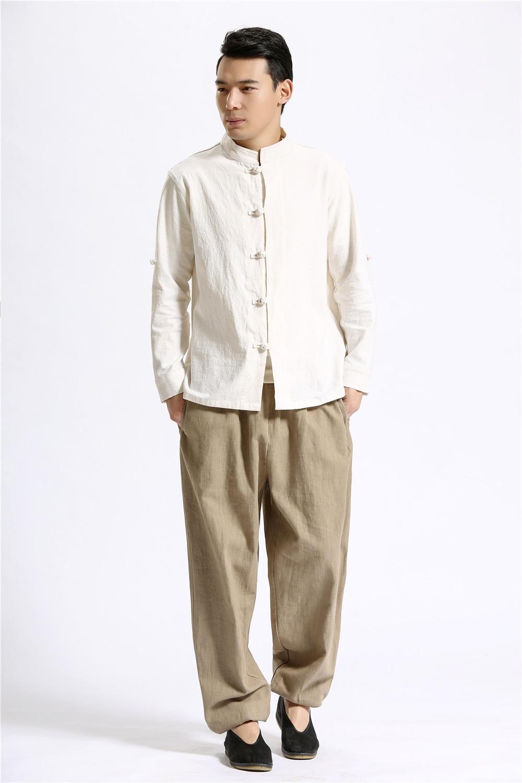 Aliexpress Com Buy Comfortable Pure Linen Men S Casual