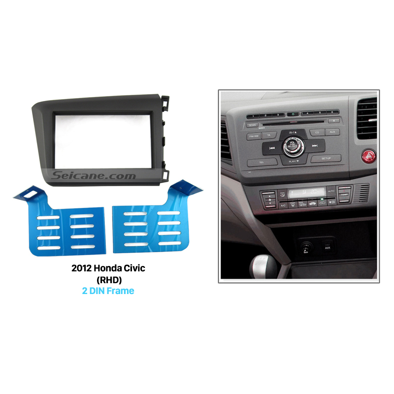 Seicane Attractive Appearance Double 2 Din Car Radio Fascia For 2012 Rhaliexpress: 2012 Honda Civic Radio Kit At Gmaili.net