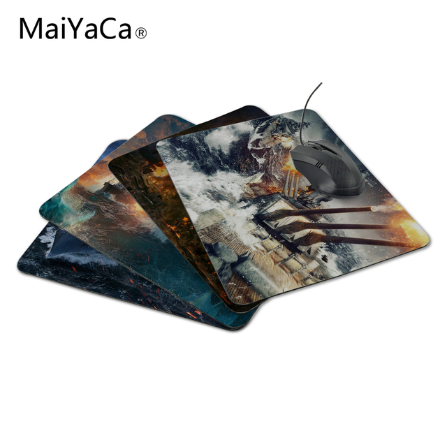 MaiYaCa world of warships storm New Arrivals Mouse Pad Computer aming Mouse Pads Not Lockedge MousePad