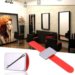 Image 4 - Salon professionnel Magnétique Bracelet Bracelet Sangle Ceinture Cheveux Clip De Fixation Accessoires De Cheveux De Coiffeur Coiffure Outils