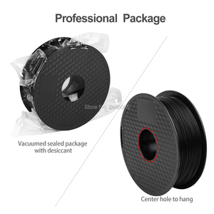 Image 4 - Ender Brand PLA Filament Samples 2Pcs 1KG/roll 1.75mm Black+White Two Color for CREALITY 3D Printer /Reprap/Makerbot