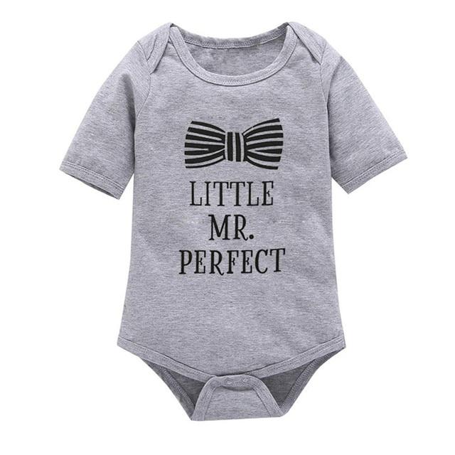 2017 Sale Winter Romper Fantasia Infantil Baby Girl Family Sayings