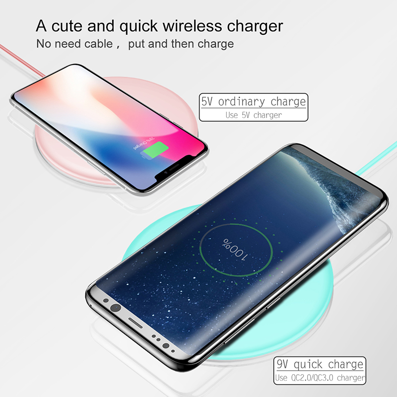 Wireless Charger 10W - Quick Charge 3.0 Universal Wireless Charger 4
