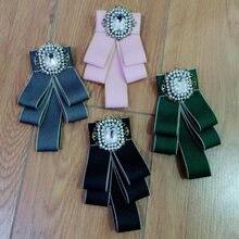 Charmcci Новая мода винтажная квадратной формы с цирконом брошь