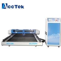 Jinan AccTek desktop co2 laser metal cutting machine , cnc laser cutter laser engraver for sale