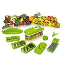 Multi-fonction Broyeur Salade Machine Outil de Cuisine Couverts 12pcs-set Légumes et Fruits Outil