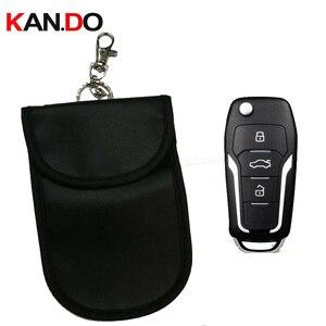 Дешевая автомобильная сумка для ключей, с датчиком, с защитой от сканирования, с рукавом, сумка, сигнальный блок, с защитой банковской карты, ...