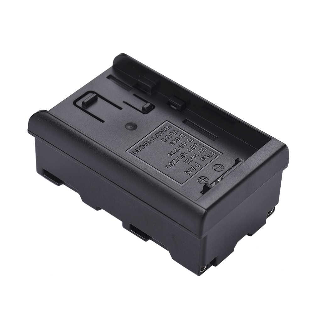Andoer 8pcs AA Battery Pack Cassa Del Supporto Sostituire F950/F750/F550 NP-F Serie per LED Luce Video pannello/Monitor/DSLR Della Macchina Fotografica