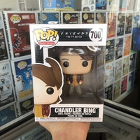Funko pop Official Television: Friends 80's Hair Chandler Vinyl Action Figure Collectible Model Toy with Original Box