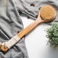 Aimjerry Wooden Bristle Bath Brush Health Care Bath Products